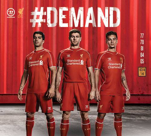New liverpool uniform