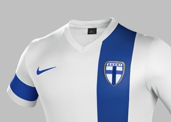Finland Home Shirt 2014 2015