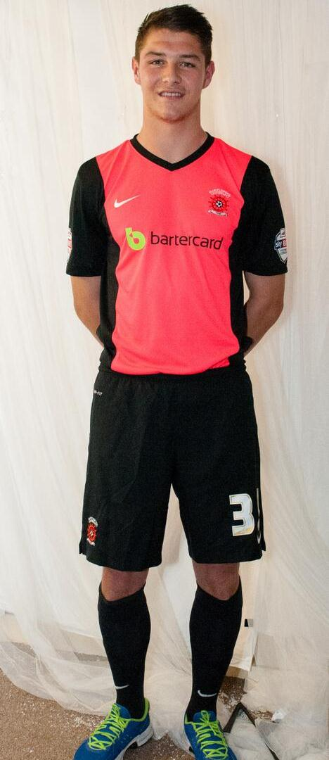 Hartlepool United Away Kit 14 15