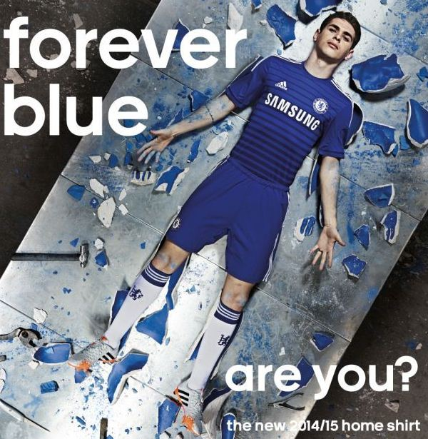 New Chelsea Home Jersey 2014 2015