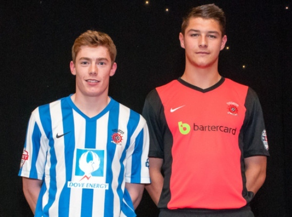 80b029f5f70 New Hartlepool United Kit 2014/15- Nike Pools Shirt 14/15 Home Away ...