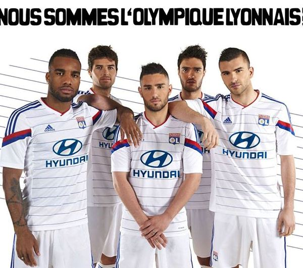 New Lyon Kit 2014 15