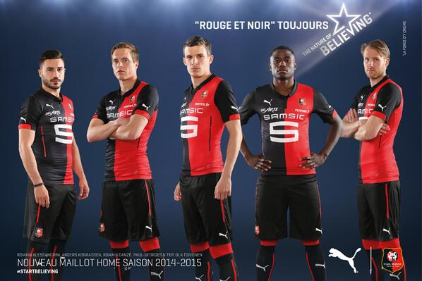 New Rennes Shirt 2014 15