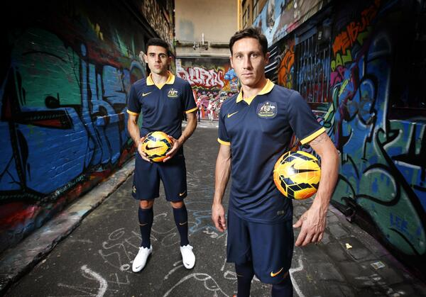 New Socceroos Away Jersey World Cup 2014