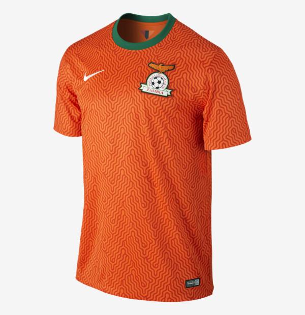 New Zambia Away Jersey 2014
