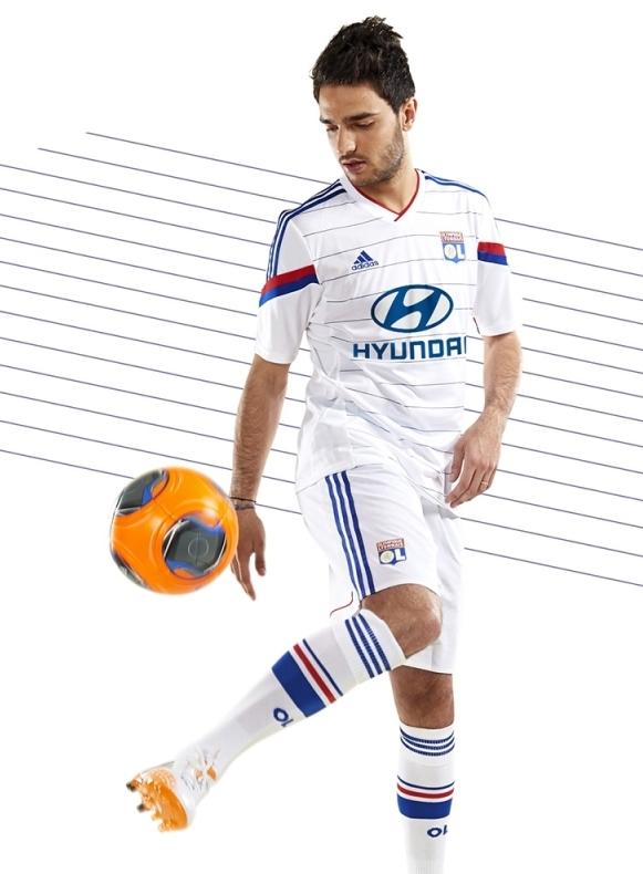 Olympique Lyon Soccer Jersey 2014