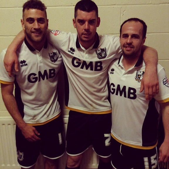Port Vale Home Shirt 2014 2015