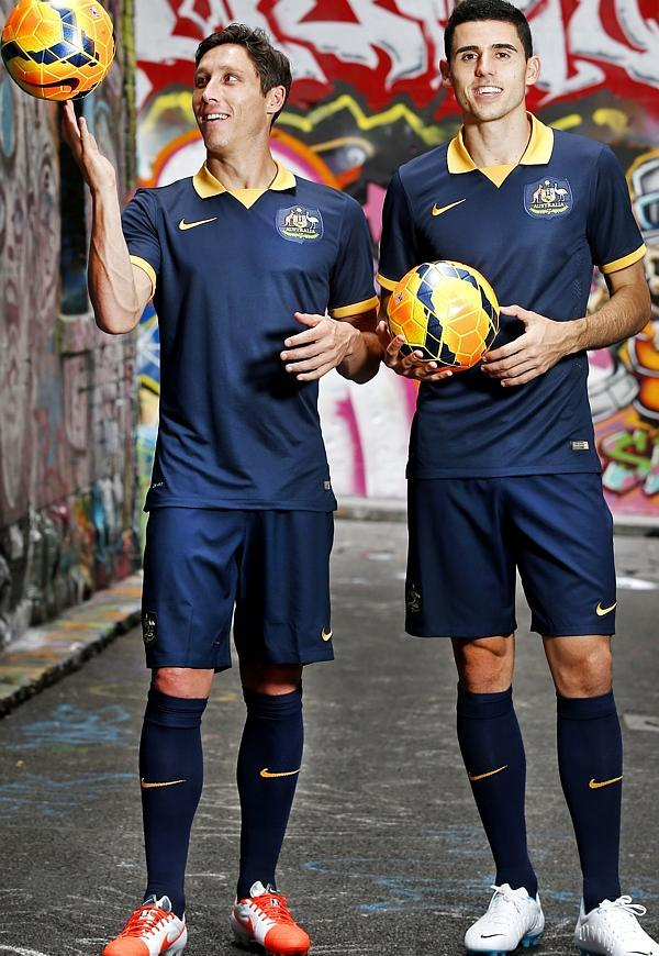 Socceroos Away Jumper 2014