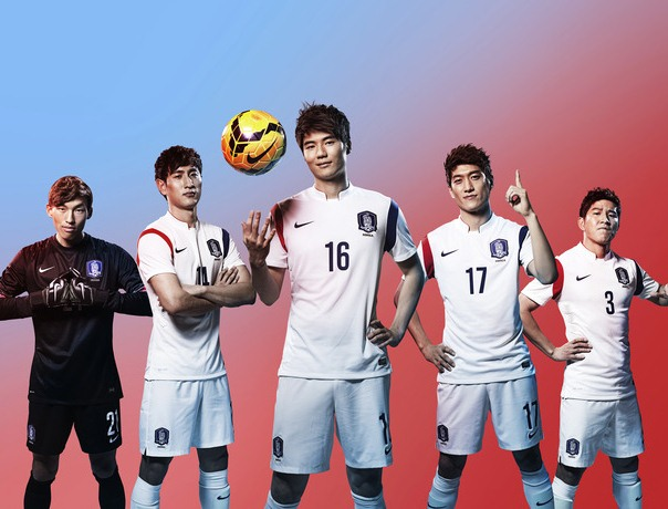 South Korea Away World Cup Kit 2014