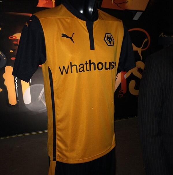 Wolves Home Shirt 2014 2015