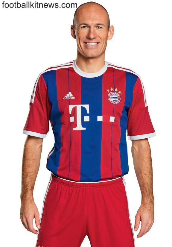 Arjen Robben Bayern Jersey 2014 2015