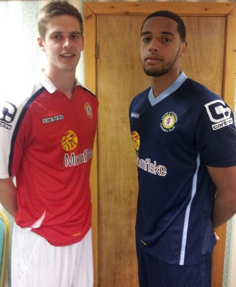 Crewe Alex Carbrini Shirt 14 15