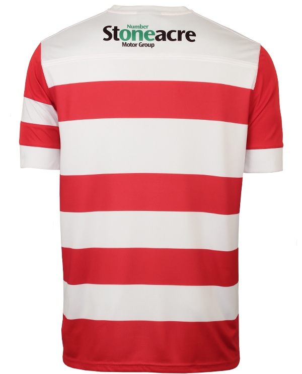 Doncaster Rovers Shirt Back