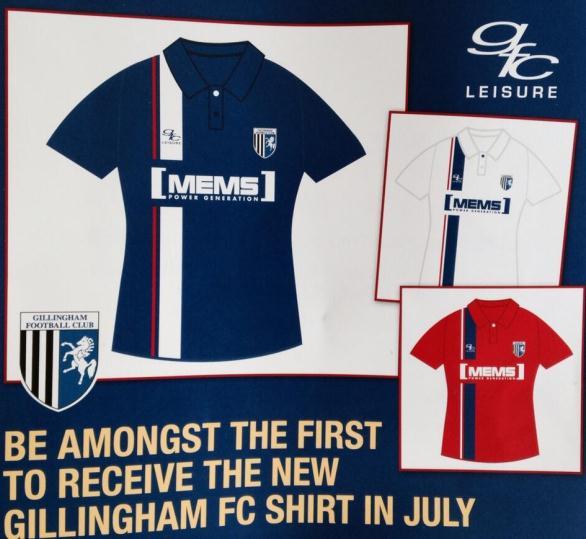 Gillingham FC Shirt 14 15