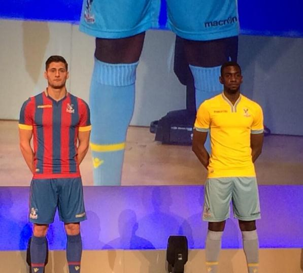 Macron Crystal Palace Kit 2014 15