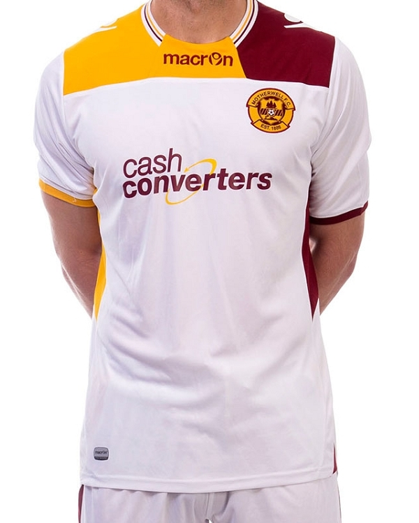 Motherwell New Away Top Macron