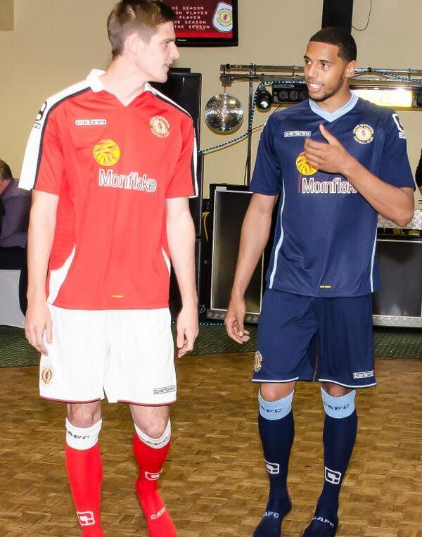 New Crewe Alexandra Kit 2014 15