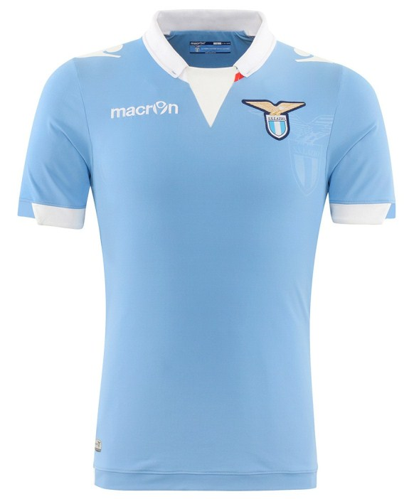 a449d22be34 New Lazio Home Kit 14 15- Macon SS Lazio Home Jersey 2014 2015 ...
