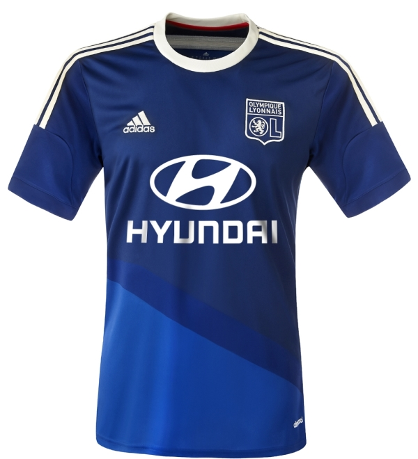 New Lyon Away Kit 2014 15