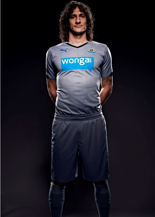 New Newcastle United Away Strip 14 15