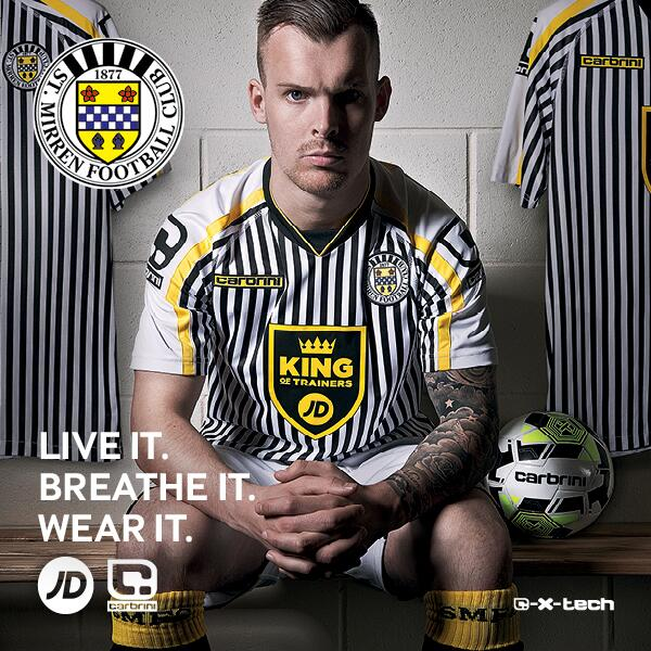 New St.Mirren Kit 14 15