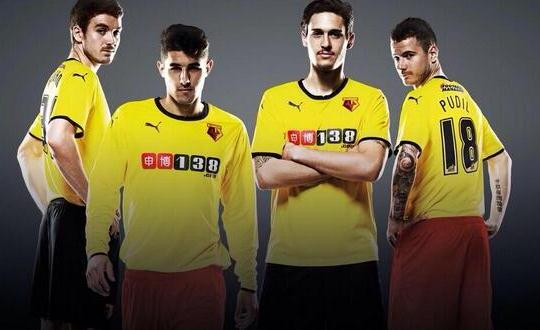 New Watford Kit 2014 15
