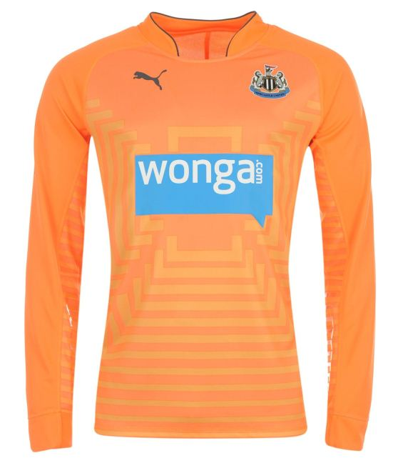 Orange Newcastle Goalkeeper Shirt 204 15