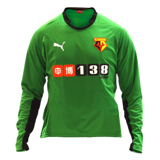 Watford Home GK Kit 2014 15