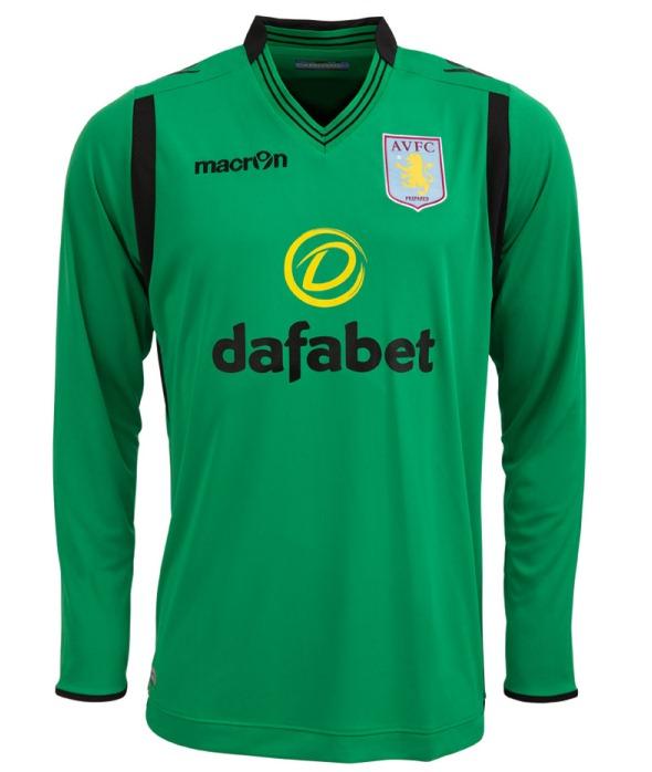 Green Aston Villa Jersey 2014 2015