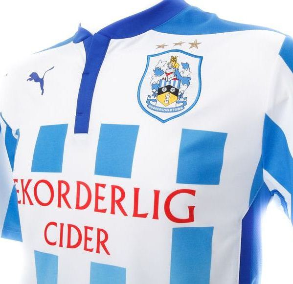 Huddersfield Town Home Kit Closeup