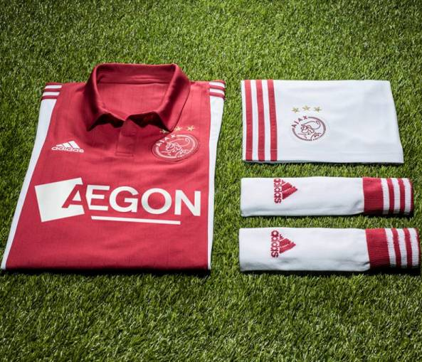 New Ajax Home Shirt 2014 15