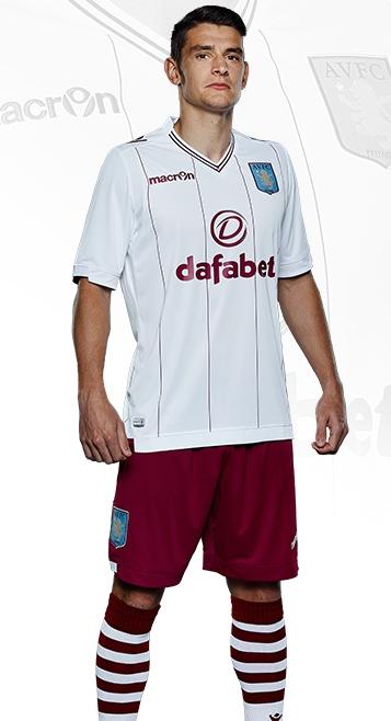 New Aston Villa Away Kit 2014 15