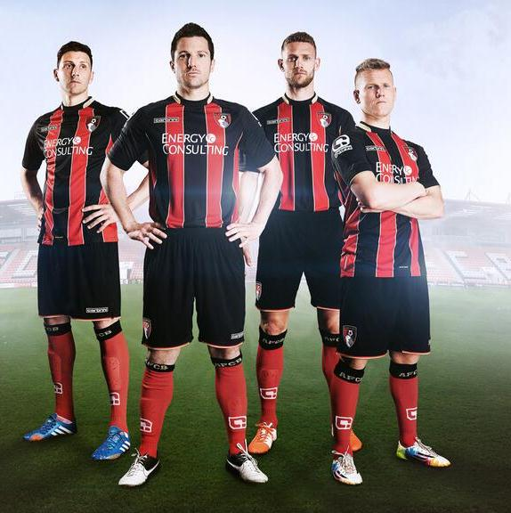 New Bournemouth Kit 2014 15