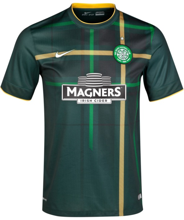 New Celtic Away Kit 14 15