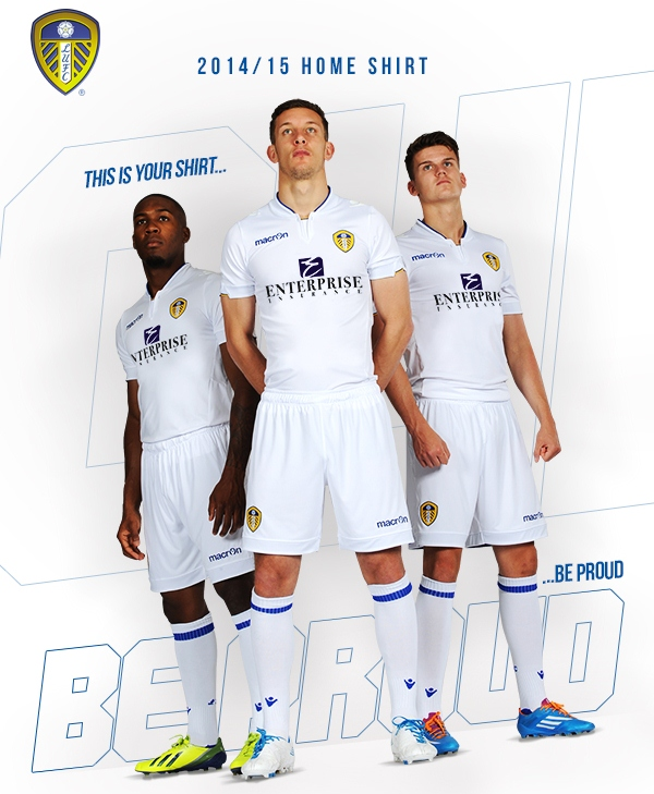 New Leeds United Kit 14 15