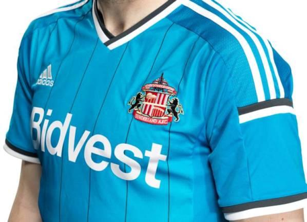 New Sunderland AwayTop 2014 15