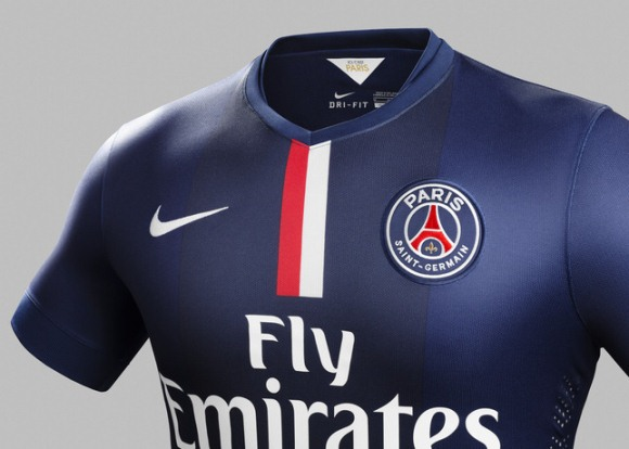 lowest price d9d56 d25fd New PSG Kit 14-15- Nike Paris Saint-Germain Home Jersey 2014 ...