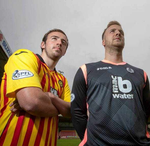 Partick Thistle Goalkeeper Top 2014 2015