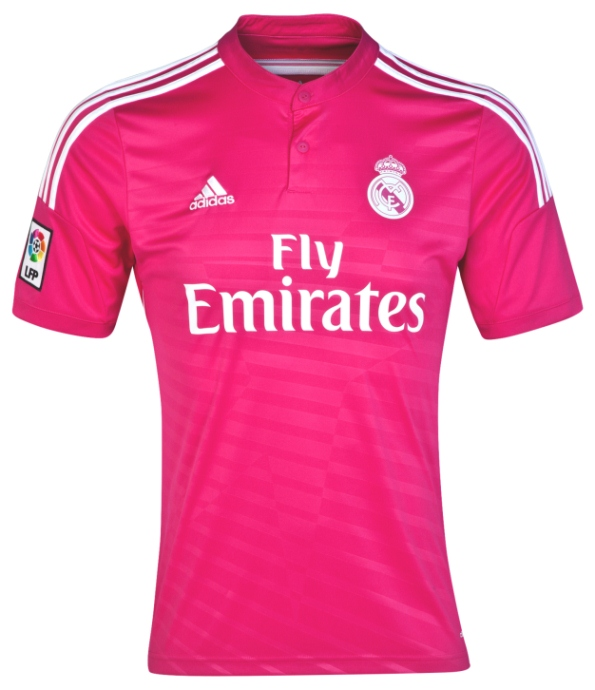 Pink Real Madrid Jersey 2014 2015
