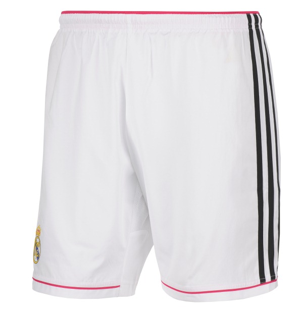 Real Madrid Home Shorts 2014 15