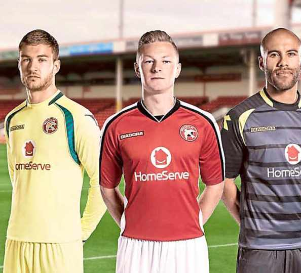 Walsall FC New Kit 2014