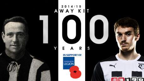 Watford Away Shirt 14 15