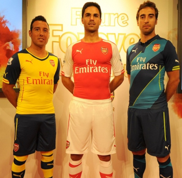 Official- New Arsenal Puma Kits 2014/2015- AFC Home Away ...
