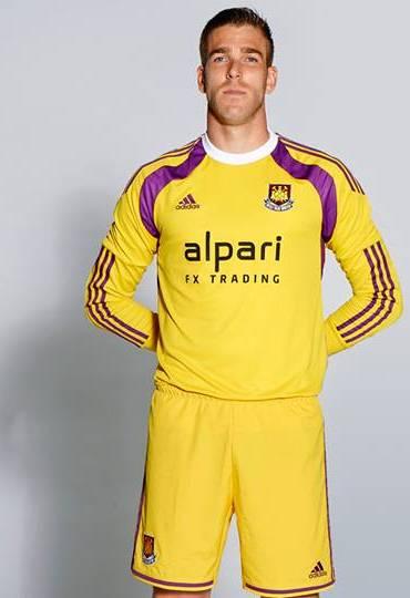 Adrian WHUFC GK Shirt