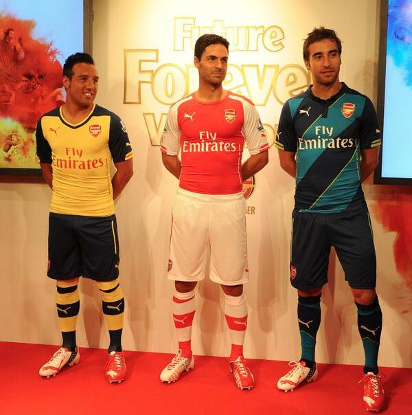 Arsenal Puma Strip 14 15
