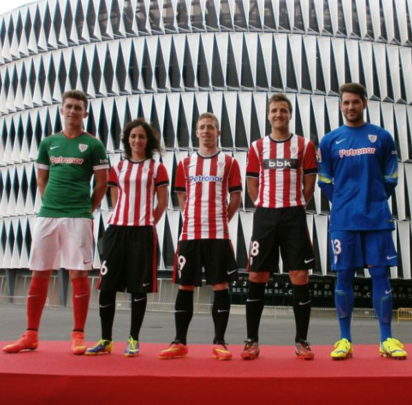Athletic Bilbao Kit 2014 2015