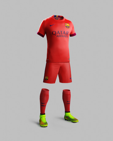 Barcelona Away Top 2014 15