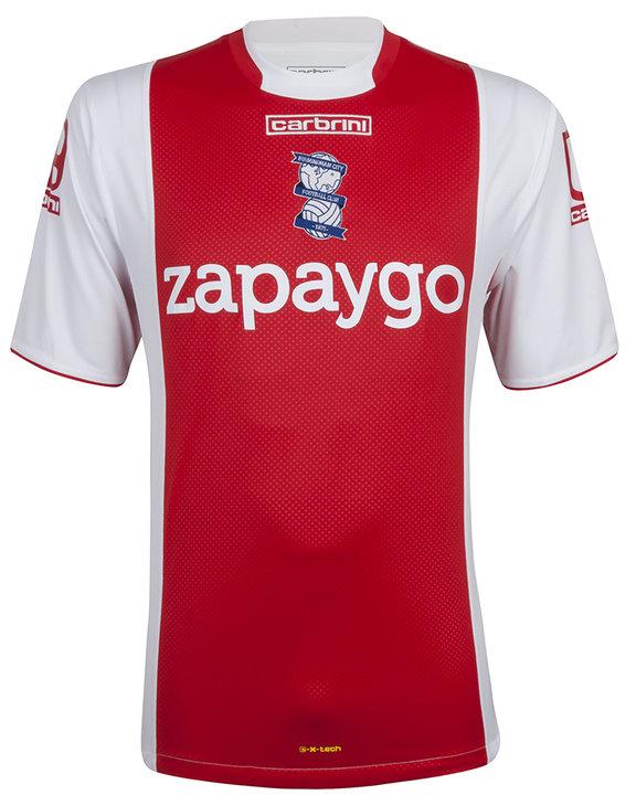 Birmingham Away Shirt 2014 2015