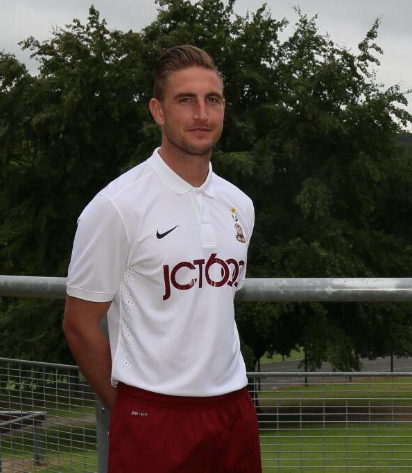 Bradford City New Away Kit 2014 2015