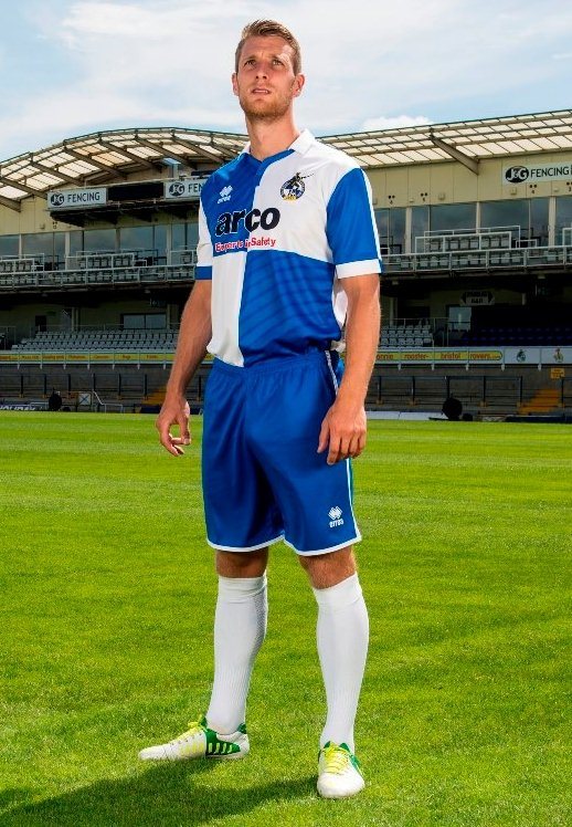 Bristol Rovers New Home Kit 2014 2015